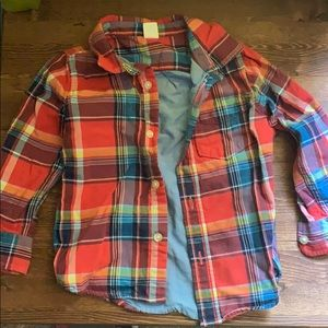 Plaid GAP toddler flannel